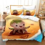 3d Cartoon Animal Octopus Bedding Set Bedroom Decor