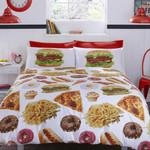 Munchies Donut Pizza Bedding Set Bedroom Decor