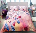 Pink Dreamcatcher Printed Bedding Set Bedroom Decor