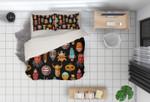 3d Cartoon Animal Head Bedding Set Bedroom Decor