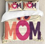 Mom I Love You So Much Bedding Set Bedroom Decor