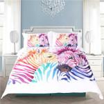 Safari Zebra Multicolor Bedding Set Bedroom Decor