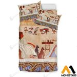 Ancient Egyptian Printed Bedding Set Bedroom Decor