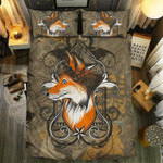 Queen Of Fox Printed Bedding Set Bedroom Decor