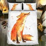 Fox Collection Art Printed Bedding Set Bedroom Decor