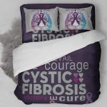 Cystic Fibrosis Awareness Bedding Set