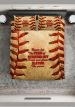 Baseball Fear Of Striking Out Bedding Set Bedroom Decor