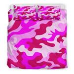 Pink Camouflage Bedding Set Bedroom Decor