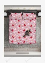 Chicken Pink Eggs Pattern Printed Bedding Set Bedroom Decor