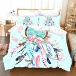 3d Charming Dream Catcher And Flowers Bedding Set Bedroom Decor