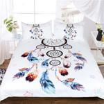Queen Chic Boho Floral Bedding Set Bedroom Decor