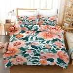 3d Abstract Watercolor Flowers Bedding Set Bedroom Decor