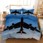 3d Airplane Blue Sky Bedding Set Bedroom Decor