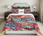 Geometrical Mythical Pattern Printed Bedding Set Bedroom Decor