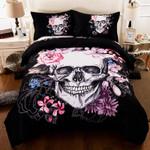 Sugar Skull Luxury 3D Bedding Set Bedroom Decor