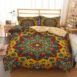 Geometric Mandala Pattern Printed Bedding Set Bedroom Decor