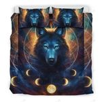 Wolf Planet Power Bedding Set Bedroom Decor