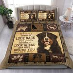Bernese Mountain Dog I'll Be There Beside You Bedding Set Bedroom Decor