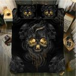 Skeleton Face 3D Bedding Set Bedroom Decor