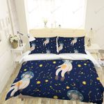3d Cartoon Space Monkey Bedding Set Bedroom Decor