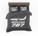 The Boeing 777 Max Designed Bedding Set Bedroom Decor