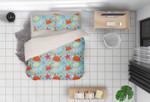 3d Cartoon Crab Starfish Bedding Set Bedroom Decor