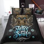 Skull Tattooed Soul Bedding Set Bedroom Decor