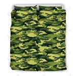 Real Camouflage Green Special 3D Bedding Set Bedroom Decor