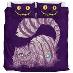 We Are All Mad Here Cat Printed Bedding Set Bedroom Decor