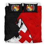 Tonga Special Grunge Flag Bedding Set Bedroom Decor