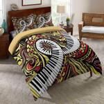 Piano Maze Music Printed Bedding Set Bedroom Decor