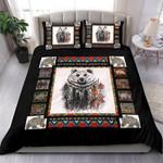 Bear Art Snow Winter Bedding Set Bedroom Decor