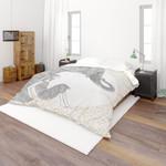 3d Elephant Simple Line Drawing Bedding Set Bedroom Decor