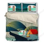Camping Relaxing Time Bedding Set Bedroom Decor