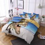 Roaring Dinosaur  Printed Bedding Set Bedroom Decor