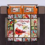 I Am Always With You Hummingbird Bedding Set Bedroom Decor
