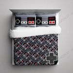 Nintendo Nes Controller Bedding Set Bedroom Decor