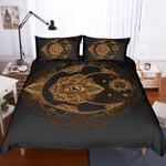 3d Gold Plates Pattern Bedding Set Bedroom Decor