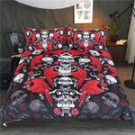 Skull With Wings Bedding Set Bedroom Decor
