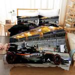 3d F1 Black Racing Car Bedding Set Bedroom Decor