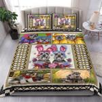 Lovely Couple Schnauzer Bedding Set Bedroom Decor
