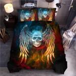 Skull Wing Dream Catcher Bedding Set