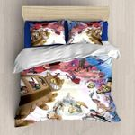 Ghibli Anime Collection Printed Bedding Set Bedroom Decor