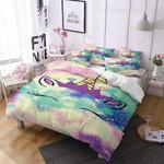 Watter Color Unicorn Pattern Printed Bedding Set Bedroom Decor