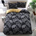 Twisted Skull Bedding Set Bedroom Decor