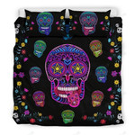 Sugar Skull Superstar Bedding Set Bedroom Decor