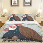 3d Cartoon Hen Comfortable Bedding Set Bedroom Decor