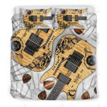 Paranormal Guitar Therapy Bedding Set Bedroom Decor