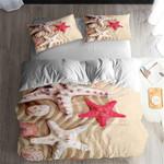Starfish Series Sea Printed Bedding Set Bedroom Decor