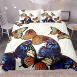 Four Kinds Of Butterflies Printed Bedding Set Bedroom Decor